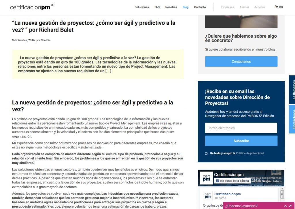 metodologías agiles predictivas