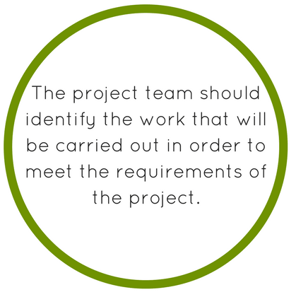 Scope Statement In This Project Document The Team Should Identify Work That